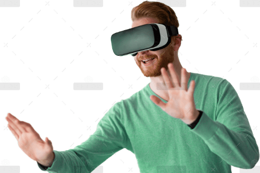 demo-attachment-1197-man-wearing-virtual-reality-headset-at-home-D7AYCTV-2